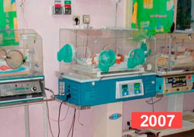 Hospital infantil de Nador, Marruecos. 2007