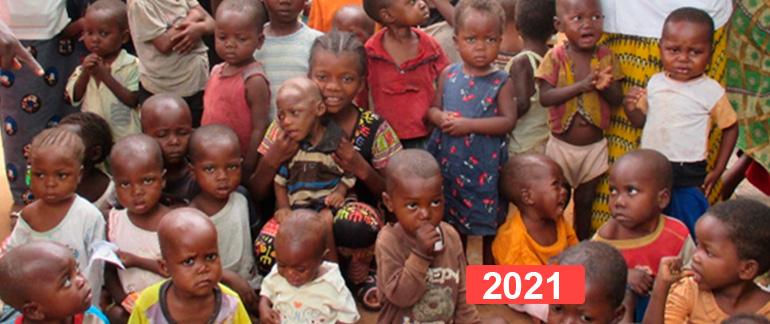 Ayuda al mantenimiento de los Centros de Nutrición infantil de La Muya y Lukelenge
