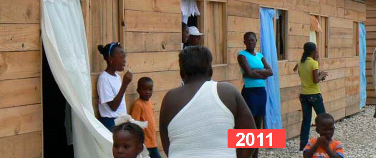 Proyecto social: construcción de 6 hogares en Haití