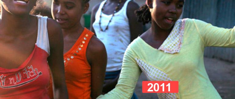 Hogar social para niñas en Madagascar. Infancia en riesgo