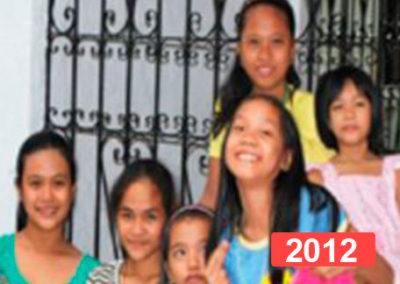 Casa de acogida para niñas huérfanas y abandonadas en Manila