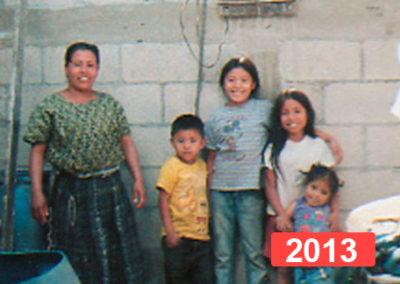 Proyecto solidario de construcción de viviendas en Guatemala. 2013