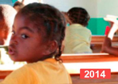 Cooperación internacional: escolarización de niñas. Madagascar 2014