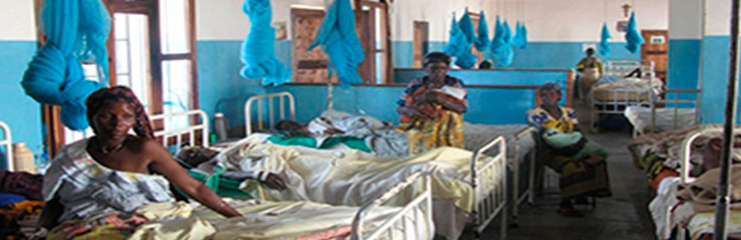camas en hospital de Guiba para atención sanitaria