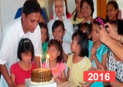 Orfanato de niñas en Manila, Filipinas 2016