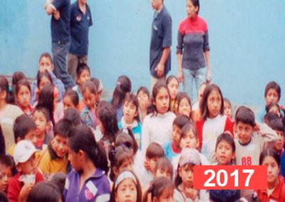Comedor social para niños en Lima. 2017