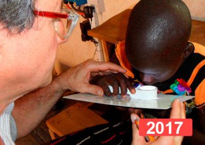 Proyecto de salud infantil en Turkana, Kenia 2017