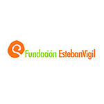 Logo Fundación Esteban Vigil en colaboración con F. Campo