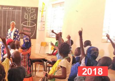 Ayuda escolar: Renovación educativa en Thiès, Senegal | 2018