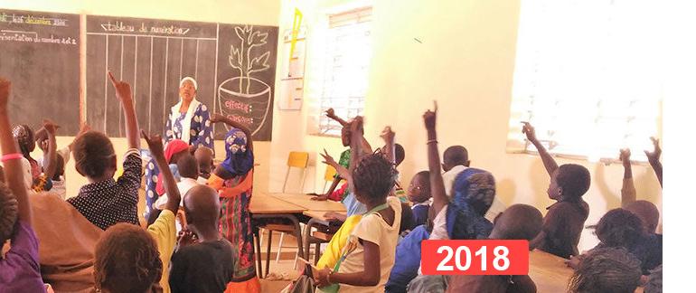 Ayuda escolar: Renovación educativa en Thiès, Senegal   2018