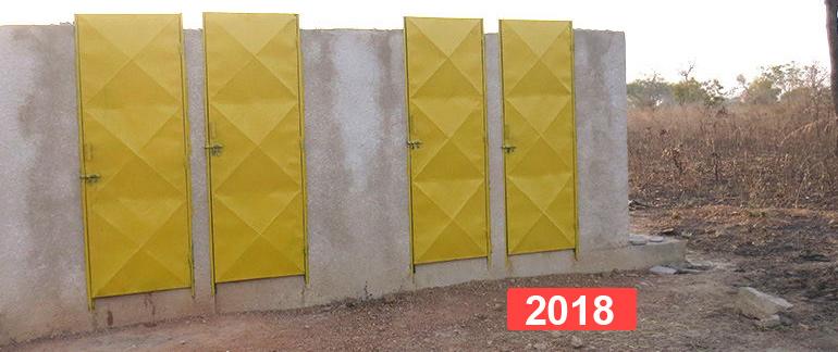 Proyecto infantil: construcción de letrinas para la escuela koul-bo