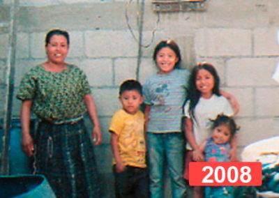 Proyecto solidario de construcción de viviendas en Guatemala. 2008