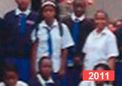 Ayuda a la infancia: formación de niñas en internado, Malaui 2011
