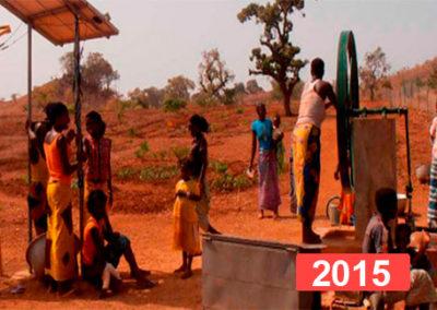 Derecho a la educación: gallinero para una escuela infantil 2015