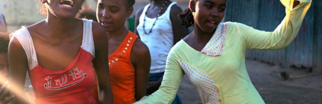 niñas en hogar social en Madagascar