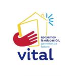 Logo asociación vital en colaboración con Fundación F. Campo