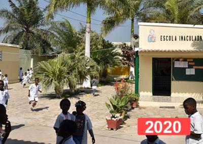 Proyecto para la escuela Inmaculado Corazón De María De Lobito (Angola)