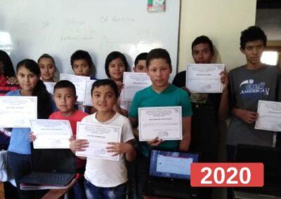 Proyecto de educación infantil: ordenadores para aula de informática en Honduras