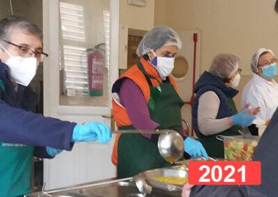 """Hijas de la Caridad """"Comedor Mª Inmaculada-Programa Integral Vicente de Paul"""""""