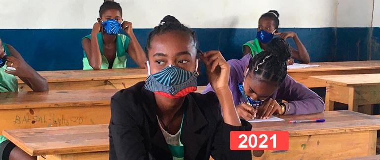"""Derecho a la educación: proyecto """"de la escuela a la vida"""" Madagascar 2021"""