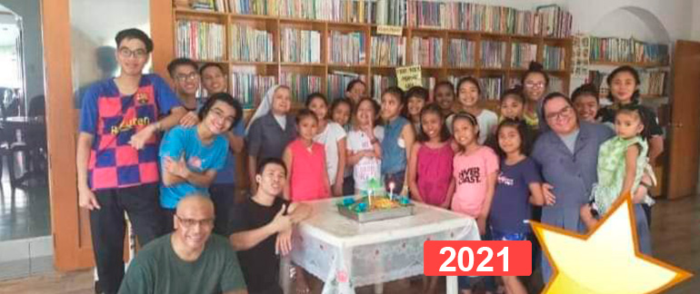 Financiación de orfanato de niñas en Manila, Filipinas 2021