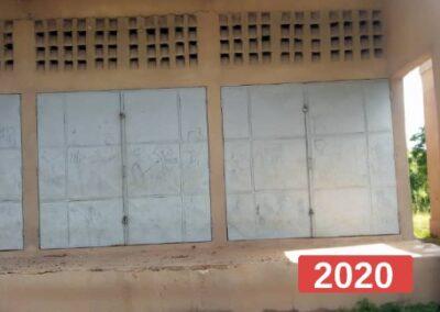 Adaptación de un centro de formación para escuela secundaria en Sansana