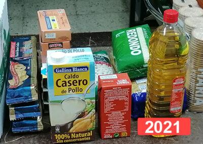 Almacén de Alimentos de la SSVP España en Madrid