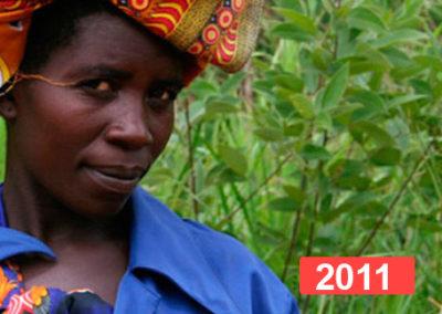 Integración laboral con el centro de iniciación profesional para mujeres. 2011
