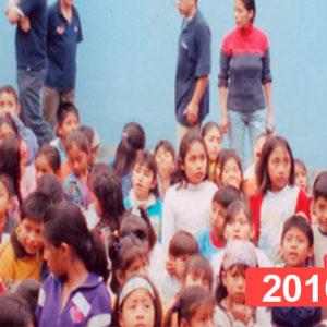 Comedor social para niños en Lima. 2016