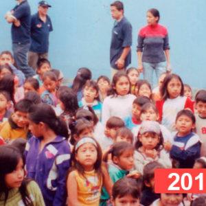Comedor social para niños en Lima. 2011