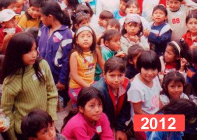 Comedor social para niños en Lima. 2012