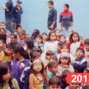 Comedor social para niños en Lima. 2013