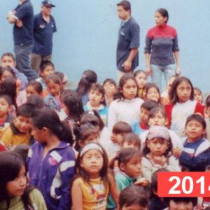 Comedor social para niños en Lima. 2014