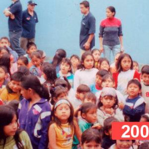 Comedor social para niños en Lima. 2008