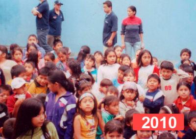 Comedor social para niños en Lima. 2010