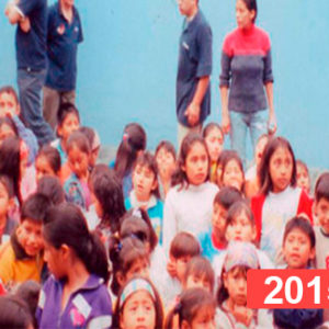 Comedor social para niños en Lima. 2015