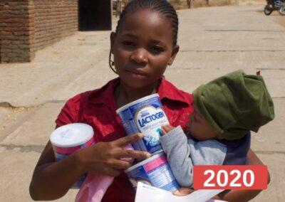 Solicitud de Ayuda para la Compra y Distribución de leche maternizada
