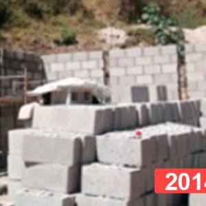 Construcción escuela infantil Guatemala 2014