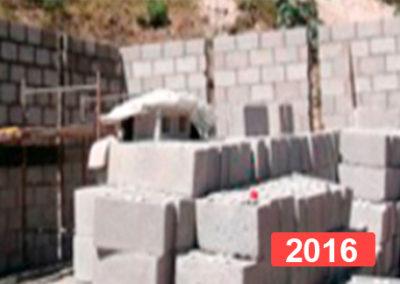 Construcción escuela infantil Guatemala 2016