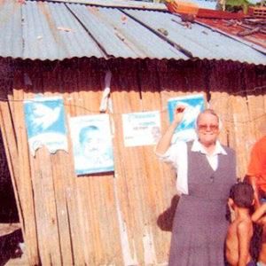 Contrucción de casa de acogida para dos familias en Arauca, Colombia