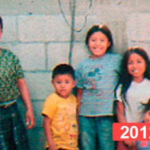 Proyecto solidario de construcción de viviendas en Guatemala. 2012