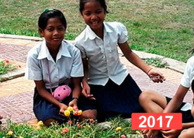 Inclusión educativa: promover la educación de menores en Camboya