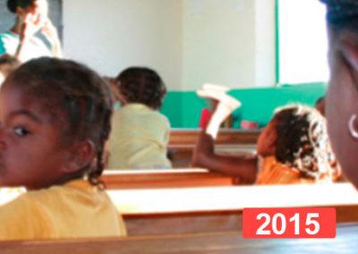 Cooperación internacional: escolarización de niñas. Madagascar 2015