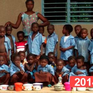 Proyecto de educación infantil: construcción de escuela en Sansana 2014