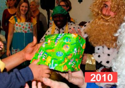 Integración social: celebración fiesta de reyes en Madrid 2010