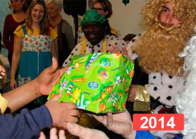 Integración social: celebración fiesta de reyes en Madrid 2014