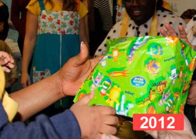 Integración social: celebración fiesta de reyes en Madrid 2012