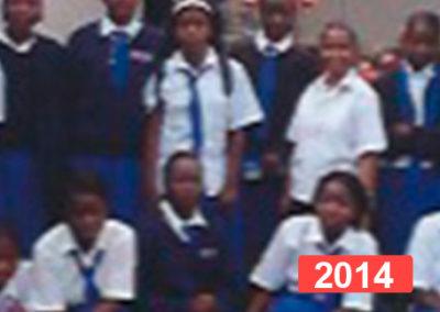 Ayuda a la infancia: formación de niñas en internado, Malaui 2014
