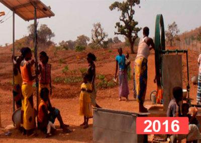 Derecho a la educación: gallinero para una escuela infantil 2016