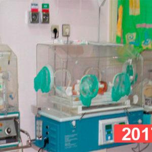 Hospital infantil de Nador, Marruecos. 2017